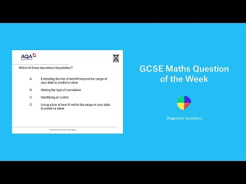 Scatter diagrams and interpolation gcse maths question of the week scatter diagrams and interpolation gcse maths question of the week ccuart Gallery