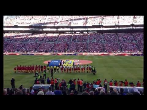 USMNT vs Panama 6/11/2013 ECS Tifo Display