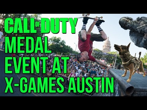 Call Of Duty Medal Event At X Games Austin? Competitive CoD At Summer XGames 2014