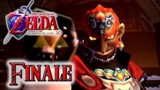 Let's Play The Legend of Zelda Ocarina of Time 3DS - FINALE: Ganon's Castle, Final Boss, Ending OoT
