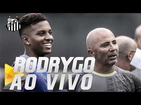 RODRYGO | COLETIVA AO VIVO (08/03/19)