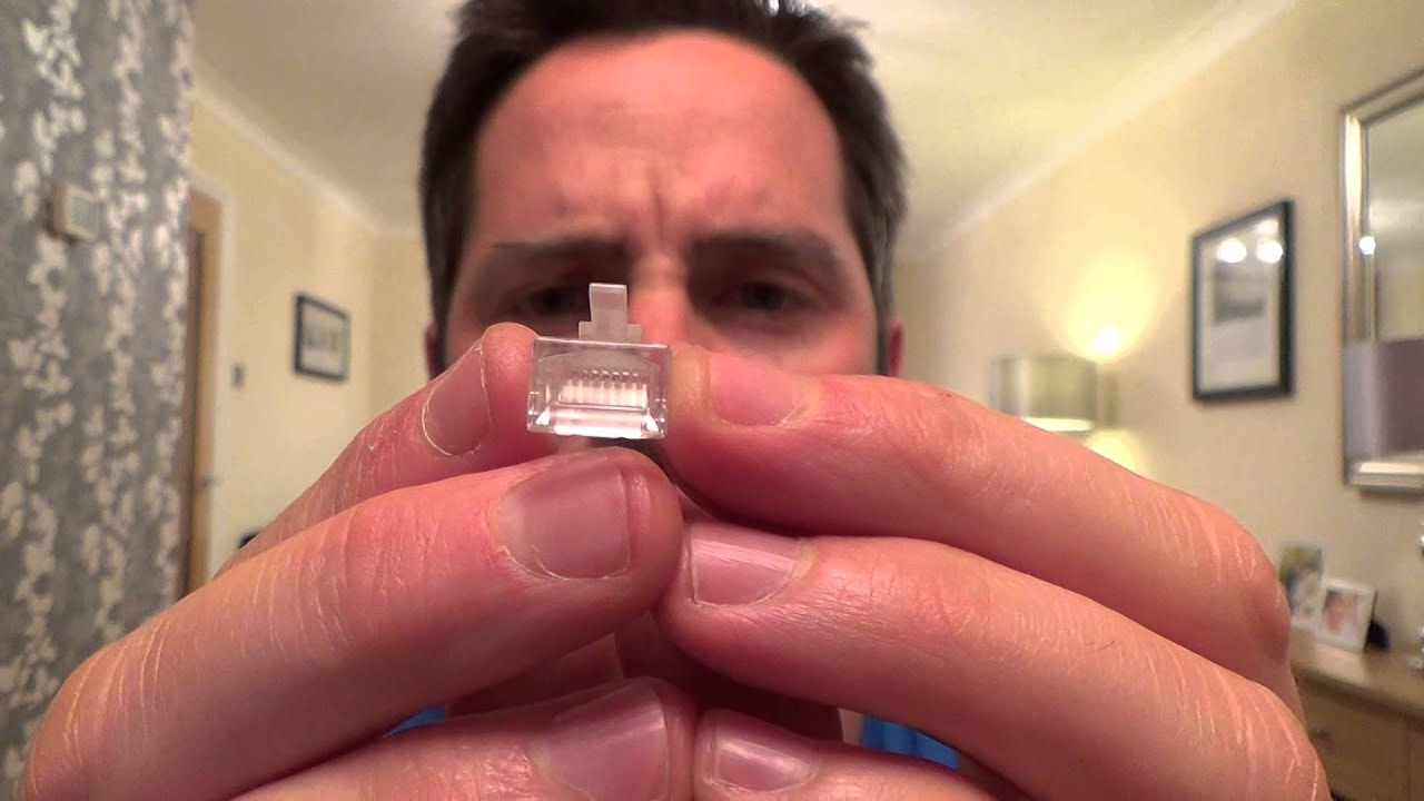 How To Tell The Difference Between Cat5 Cat6 Solid Stranded Core Rj45 Plug Wiring Plugs Youtube