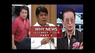 UNTV: Why News (December 07, 2018) PART 2