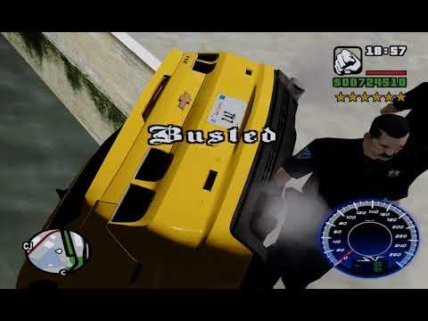 GTA SA Busted 13