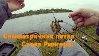Летняя рыбалка! Фидер! Симметричная петля Стива Рингера!