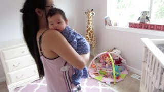 Julianna's Nursery Coming Along! - January 26, 2013 - Itsjudyslife Vlog