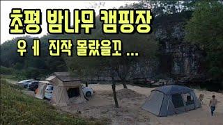 #캠핑 #충북캠핑장 #밤줍기체험 #초평밤나무캠핑장  가…