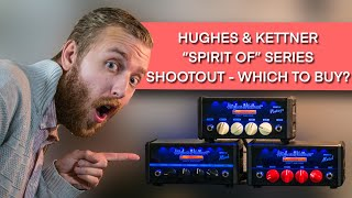 """Hughes & Kettner The Spirit of """"Vintage, Rock & Metal"""" Amp Shootout - Which to buy? - ResQ Gear Demo"""