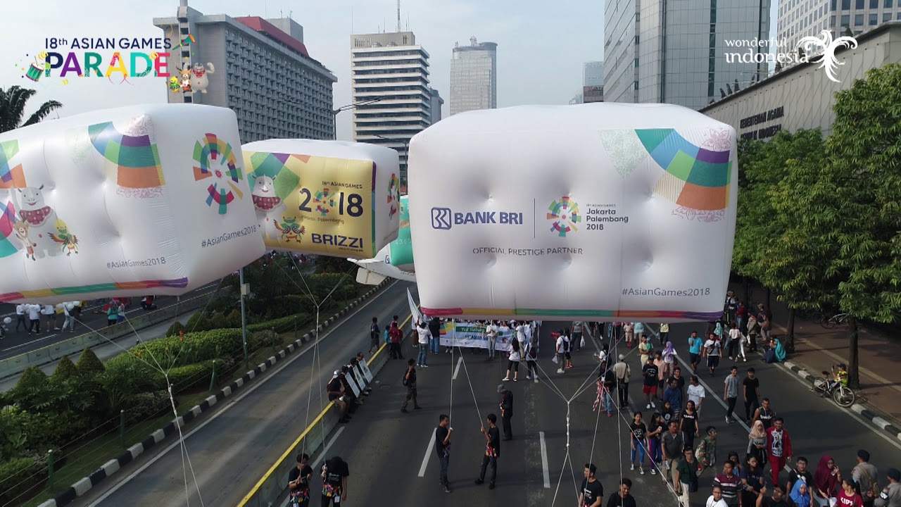 Parade Asian Games 2018