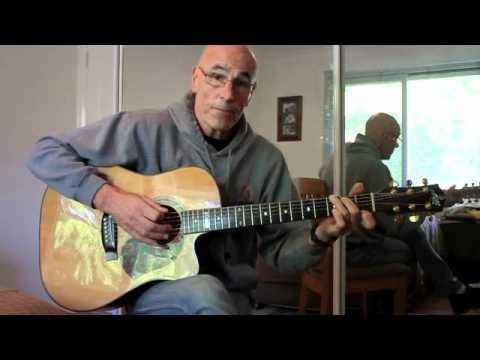 Bush Tucker Man opening titles rhythm guitar tutorial