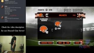 Lets Get Rekt! w Chris! #2 (NFL Training Camp, Wii 2010)