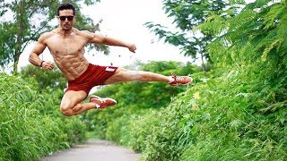 Download lagu Tiger Shroff's Non Stop Flying Stunt Practice For Student Of The Year 2