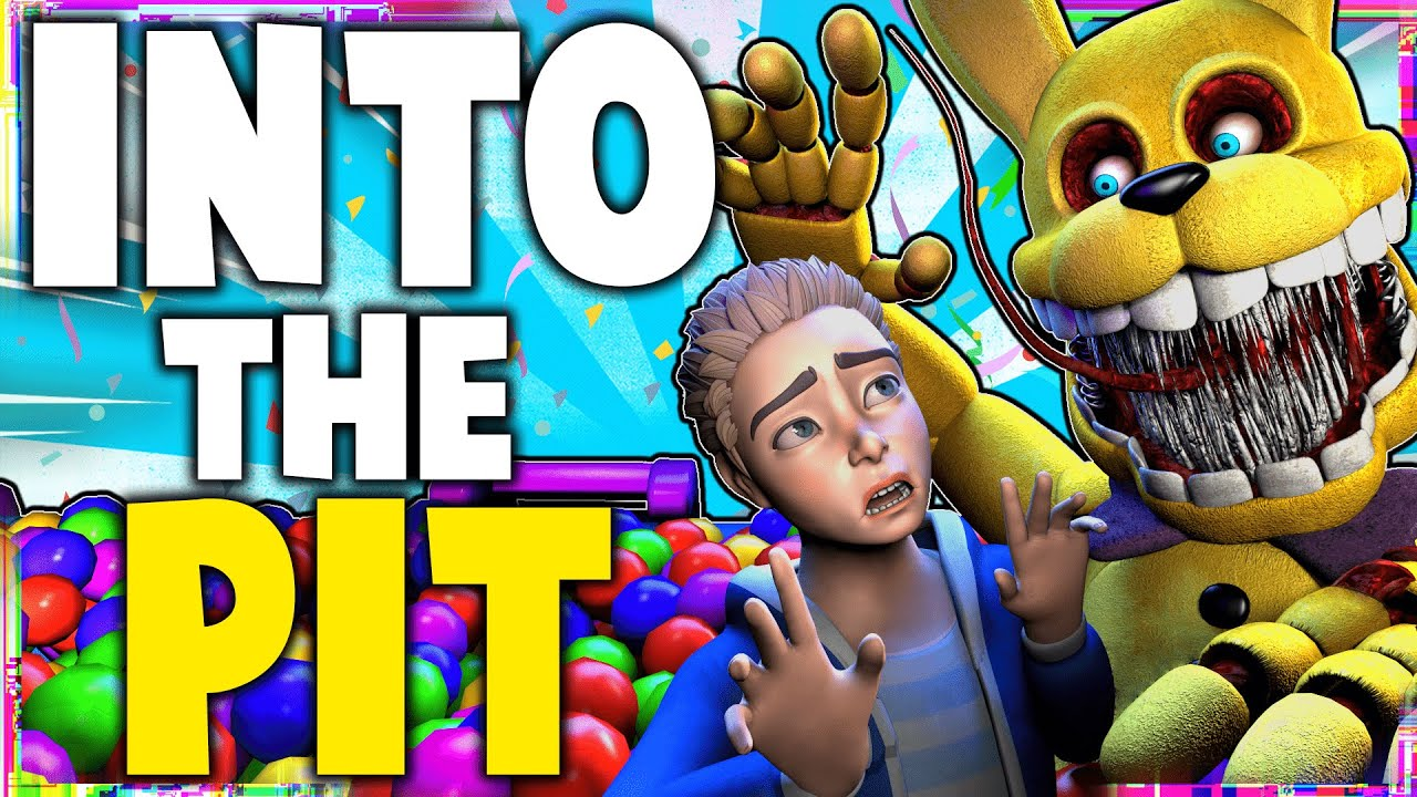 Download FNAF - INTO THE PIT SONG LYRIC VIDEO - Dawko & DHeusta