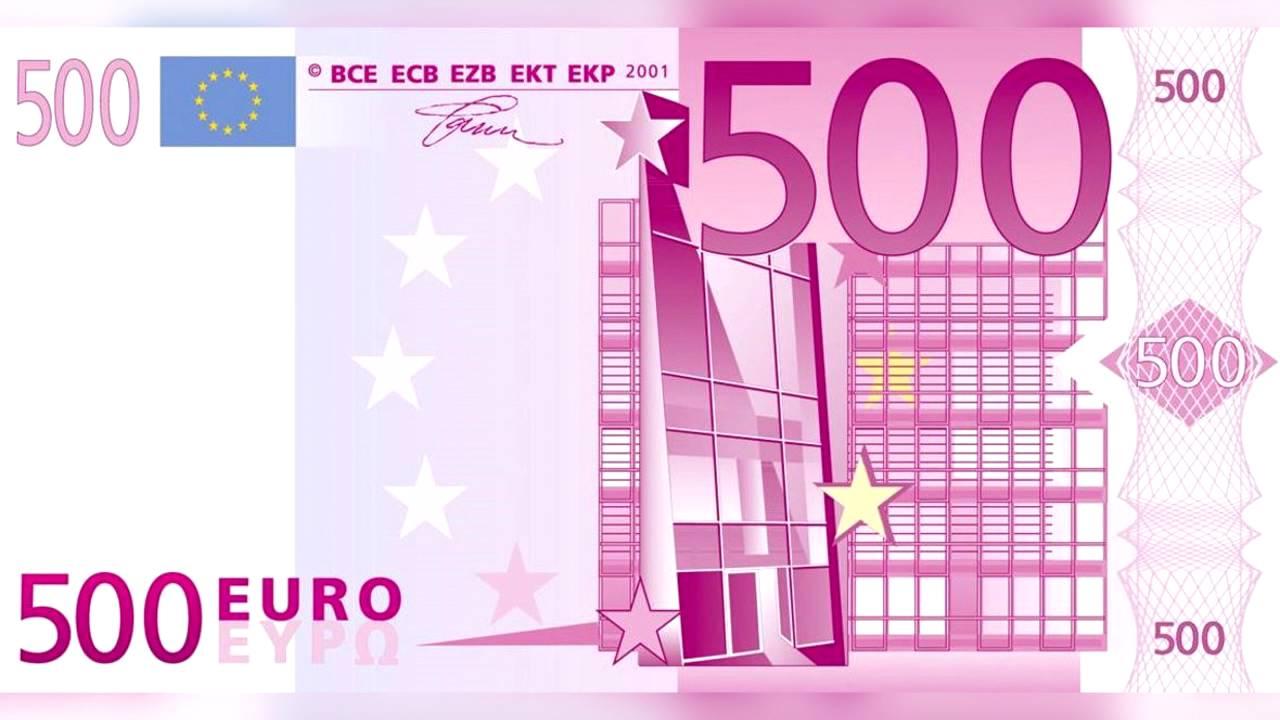 Los billetes de 500 euros desaparecer n despu s de 2018 for Ecksofa 500 euro