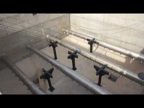 Water Treatment Plant During Construction