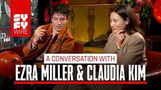 Download Video Fantastic Beasts' Claudia Kim On Playing Nagani (And Ezra Miller With A Balloon) | SYFY WIRE MP3 3GP MP4