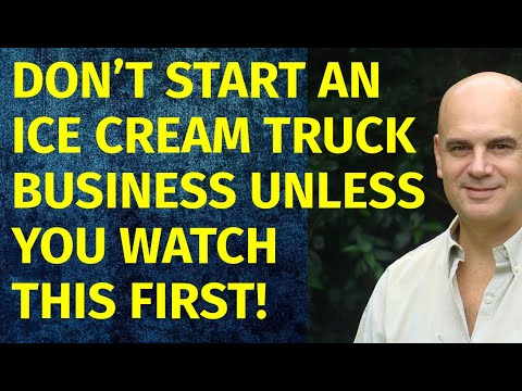 How To Start A Ice Cream Truck Business | Including Free Ice Cream Truck Business Plan Template