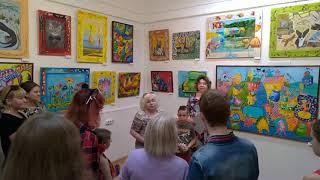 Забавные животные - персональная выставка Татьяны Костенко в  Реутове