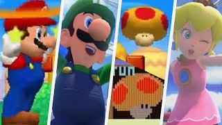 Super Mario All Mega Mushrooms Evolution (2000 - 2017)