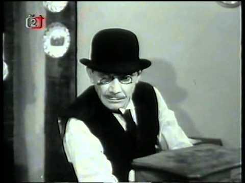 Drahý zesnulý   Český TV film (1964) komedie