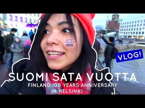 FINLAND 100 YEARS ANNIVERSARY | HELSINKI VLOG |🇫🇮