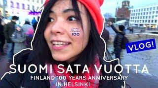 FINLAND 100 YEARS ANNIVERSARY   HELSINKI VLOG  