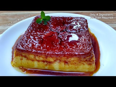 Bread Pudding Without Oven Recipe In Hindi By Indian Food Made Easy
