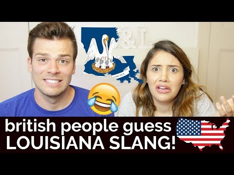🇬🇧Brits Guess LOUISIANA Slang!🇺🇸 | American vs British