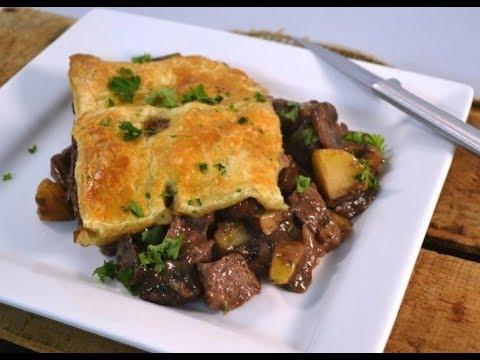 Steak and Potato Pot Pie Recipe | RadaCutlery.com - YouTube
