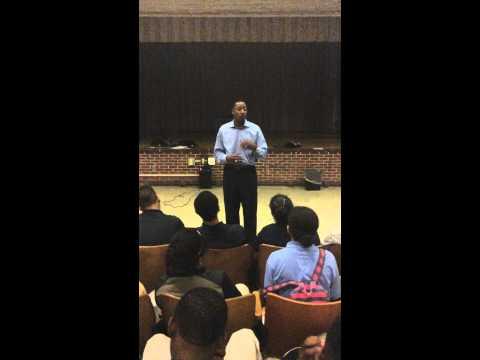 Hear Chris Speak at The Urban Assembly School for Global Commerce PART 2