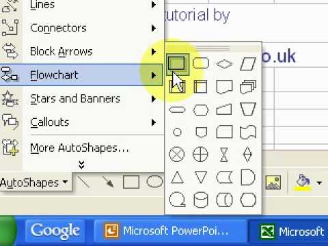 How To Create A Flow Chart In Microsoft Excel Youtube