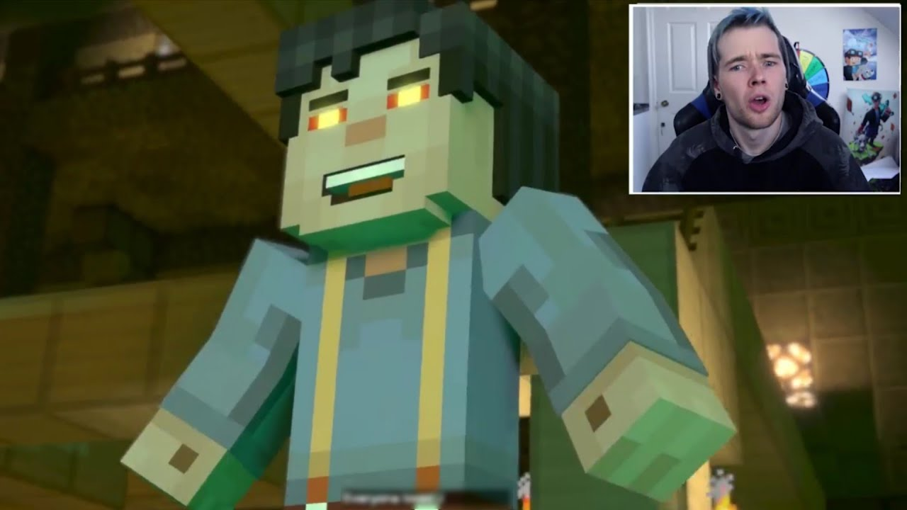 Youtubers React To The Admin Turning Into Jesse Minecraft