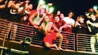 XXXTENTACION Hangs Off Balcony and Performs Suicide Pit - Revenge Tour - The Novo in LA