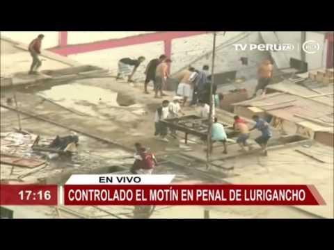 INPE: Internos protagonizan protesta en penal de Lurigancho