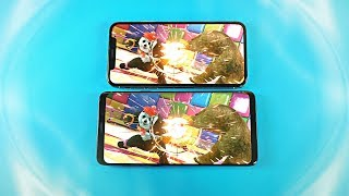 Samsung Galaxy S9 Plus vs iPhone X - Gaming Comparison!