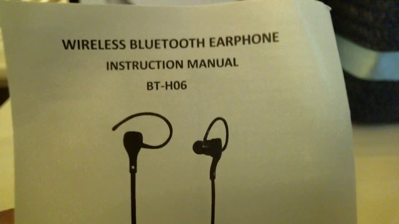 How to pair Wireless Bluetooth Sports Headphones to Ipod Touch