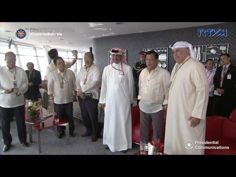 Duterte meets Bahrain Crown Prince