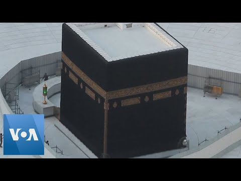 Kaaba Deserted As Saudi Arabia Suspends Pilgrimage