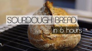 Easy Sourdough Bread Recipe us…