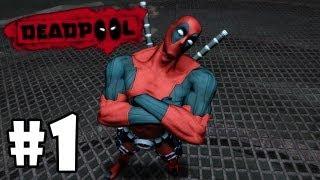 Прохождение Deadpool - Серия 1 Начало безумия
