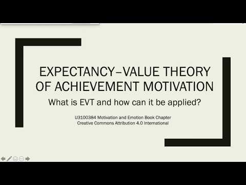 Expectancy–value Theory Of Achievement Motivation: What Is EVT And How Can It Be Applied