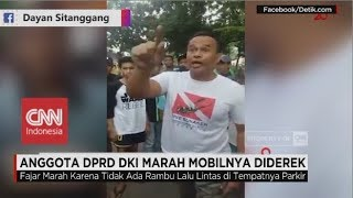 Download Video Anggota DPRD DKI Marah Mobilnya Diderek MP3 3GP MP4