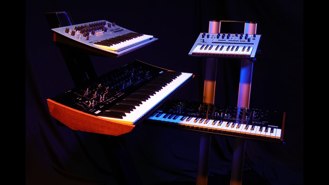 The Next Generation of Korg Analog Synths : Korg prologue 16, prologue 8,  monologue, and minilogue