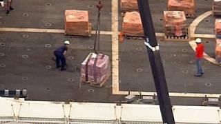US Coast Guard Offloads Seized Cocaine