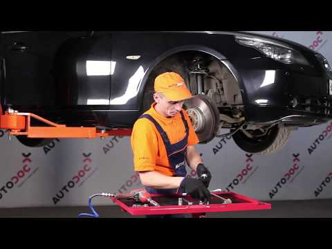 How to replace Front Anti Roll Bar Link on BMW 5 E60 TUTORIAL | AUTODOC