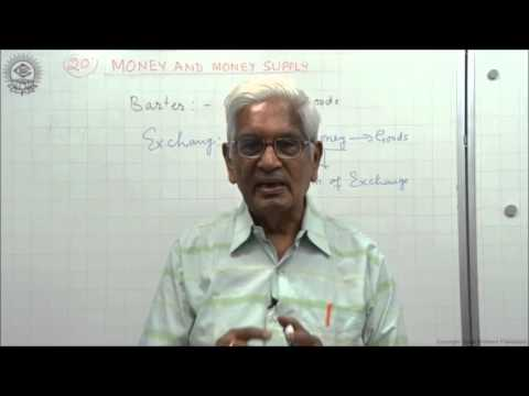Meaning and Function of Money Class XII Economics by S K Agarwala