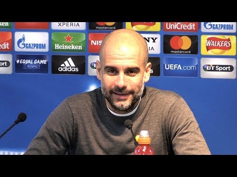 Manchester City 1-2 Basel (5-2) - Pep Guardiola Full Post Ma