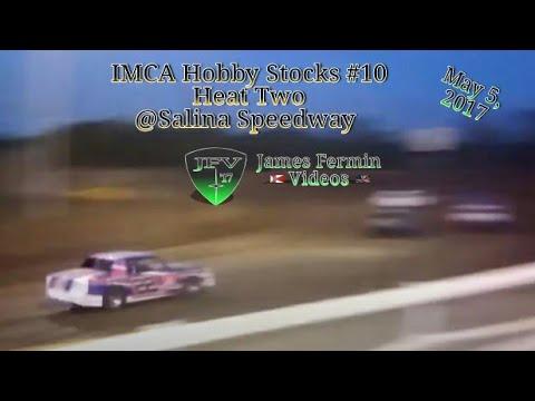 IMCA Hobby Stocks #9, Heat, Salina Speedway, 2017