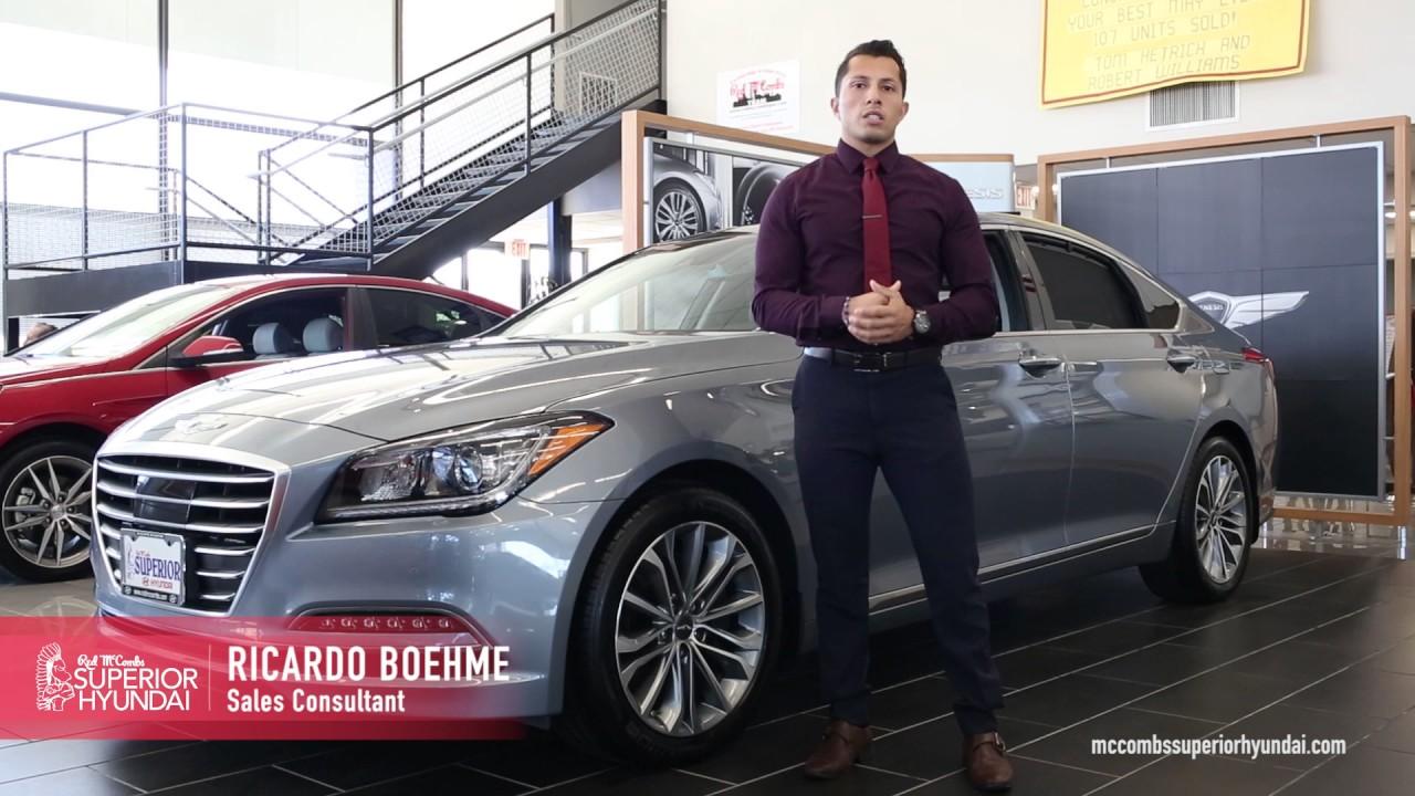 Red Mccombs Superior Hyundai >> Red Mccombs Employee Spotlight Ricardo Boehme
