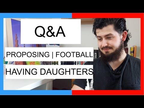 Q&A: FOOTBALL, KIDS, PROPOSING, TRAVEL
